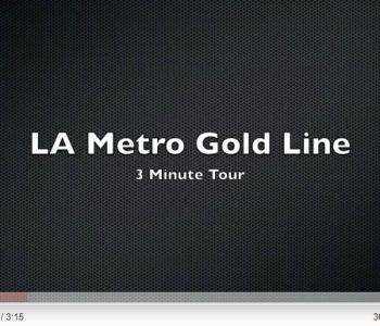 Goldlinetour in 3min