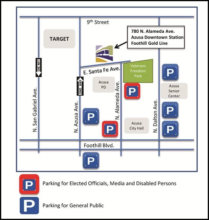 azusa parking