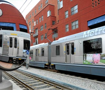 Metro's Gold Line celebrated its 10th anniversary in July 2013. (Photo by Walt Mancini)