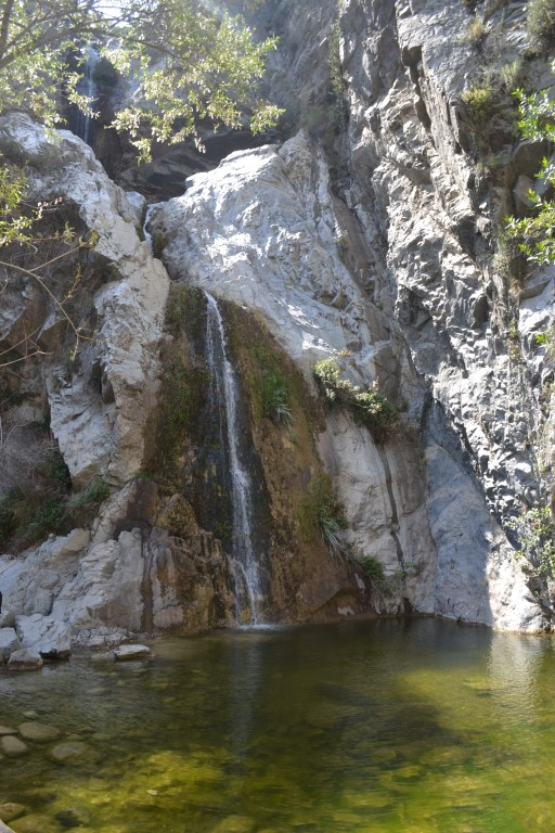 The Fish Canyon falls is known for its triple-tiered waterfall canyon, a former popular vacation site now open to hikers. All photos: Doug Lewis/Streetsblog L.A.