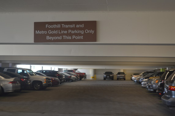 Permit parking restrictions were introduced over the past several months by both Foothill Transit and Metro after an unanticipated surge of parking demand.