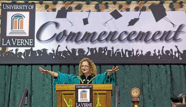 (Frank Perez/correspondent) The University of La Verne graduates the Class of 2013 June 1, 2013 at the Citizens Business Bank Arena in Ontario.
