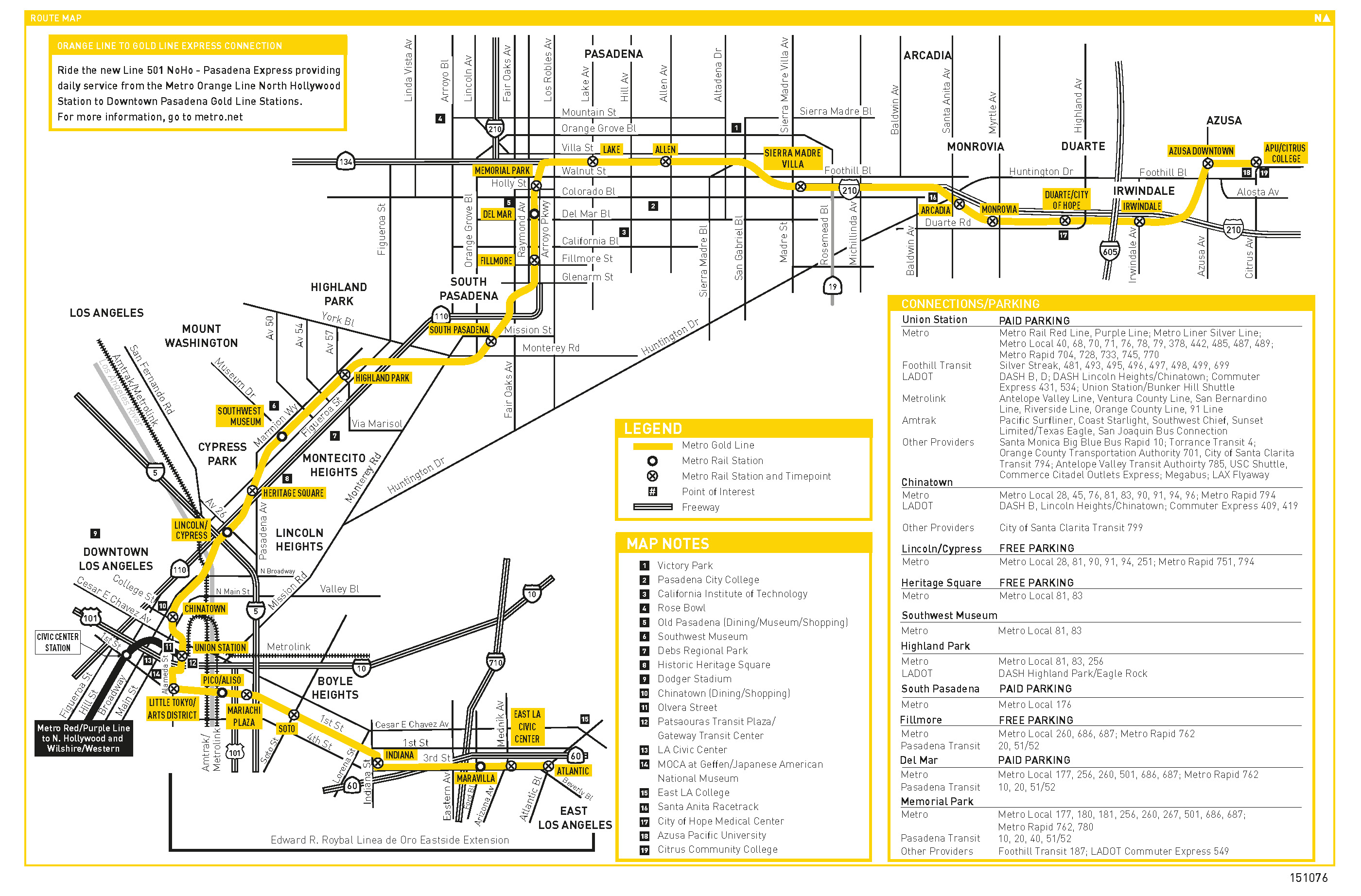 Train Schedule For Six New Gold Line Stations Released I